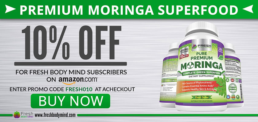 10% OFF Premium Moringa Superfood