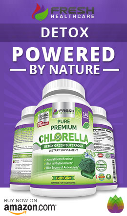 Organic Chlorella Natural Detox
