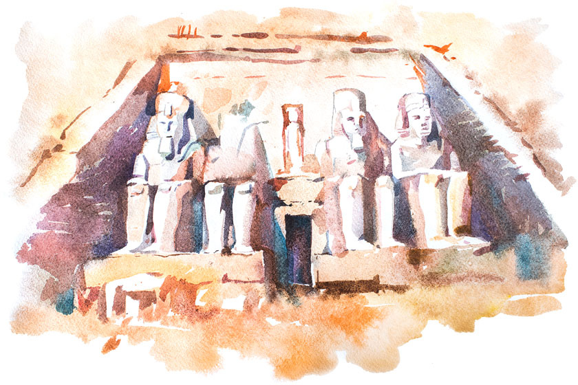 The Great Temple of Ramesses II