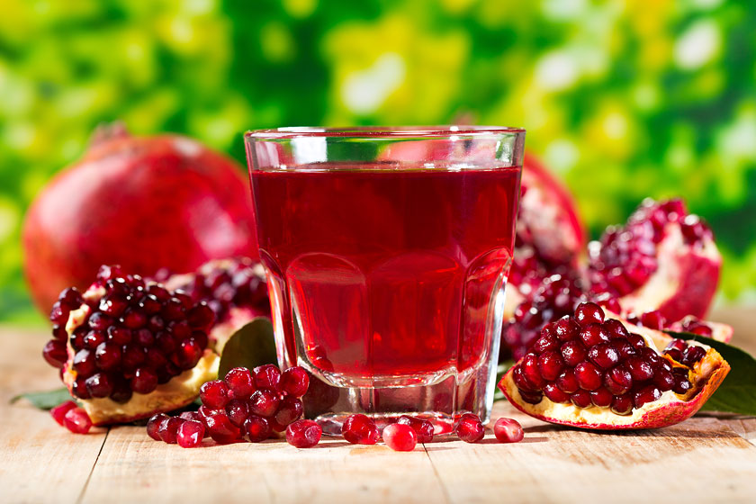 Help Reduce Blood Pressure with the Natural Health Benefits of Pomegranate