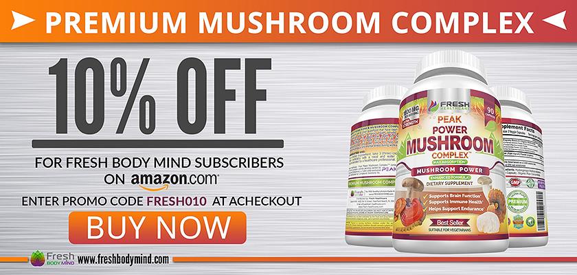10% OFF Premium Peak Power Mushroom Complex