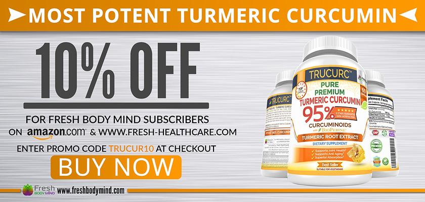 10% OFF - Pure Premium Potent Turmeric