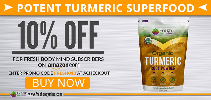 10% OFF - Potent Turmeric Root Powder