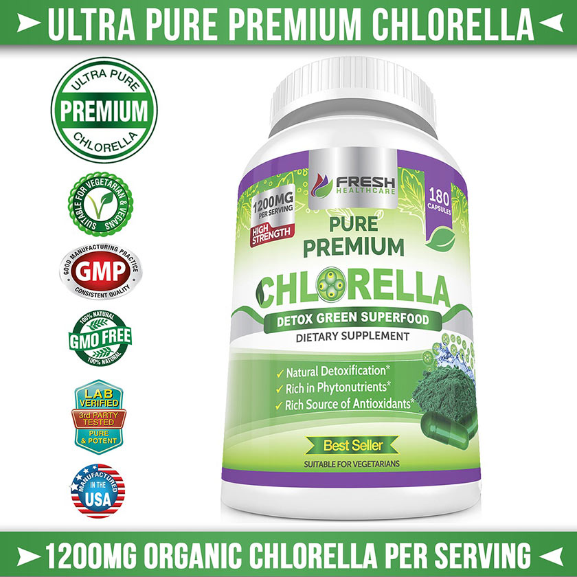 Premium Ultra Pure Chlorella
