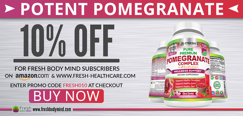 10% OFF Potent Pomegranate Juice Powder Supplement
