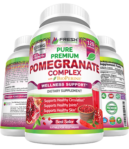 Premium Pomegranate Juice Powder Supplement