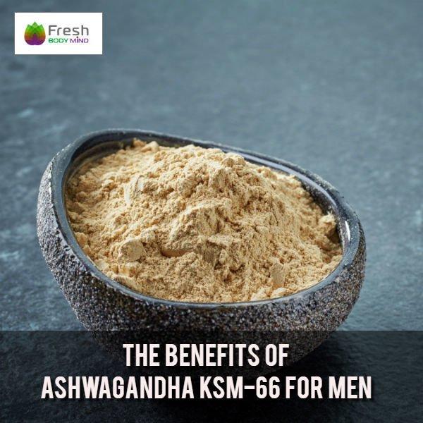 Ashwagandha KSM-66 for Men