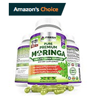 Best Moringa for Inflammation Leaf powder Capsules