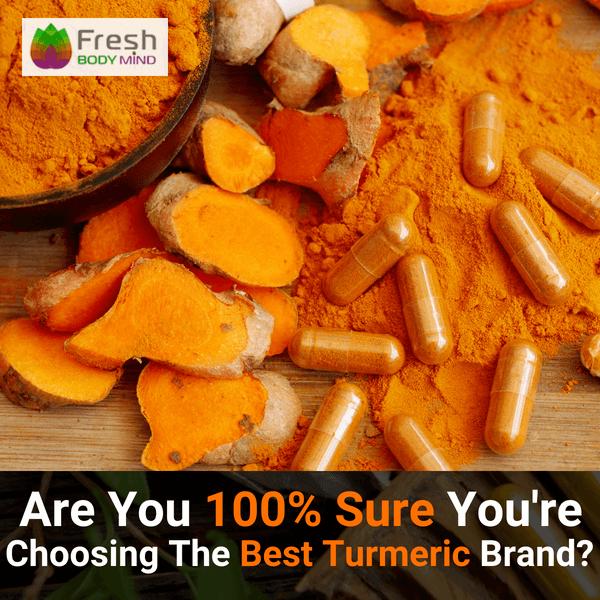 Best Turmeric Curcumin Supplement Brand