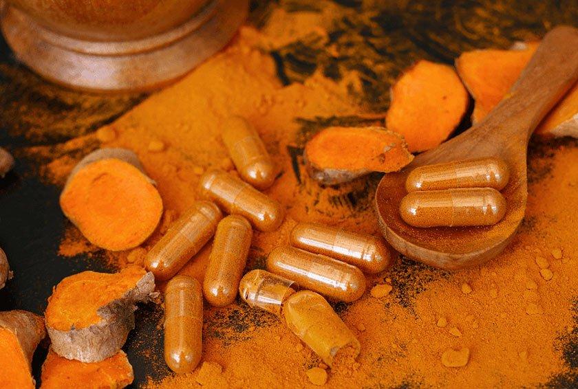 Best Vibrant Orange Turmeric Curcumin Powder Supplement