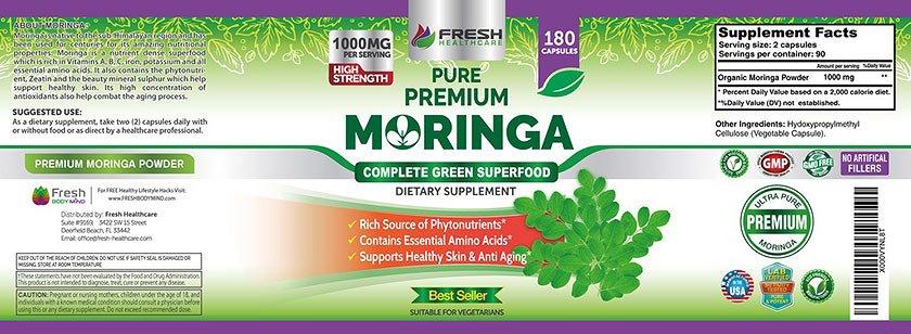 best moringa supplement
