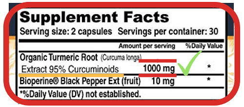 Most Powerful Turmeric Curcumin Supplement