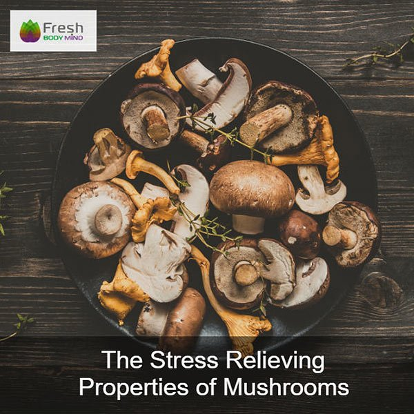 The Stress Relieving Properties of Mushrooms