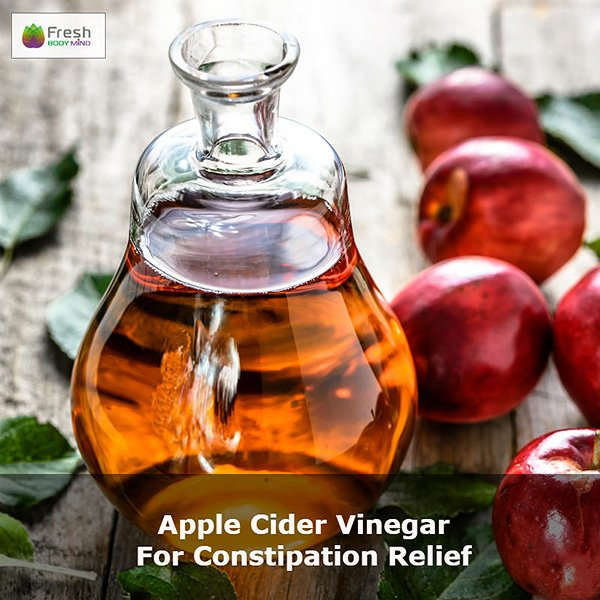 Apple Cider Vinegar for Constipation Relief