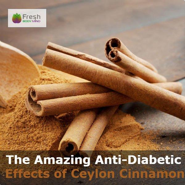 Antidiabetic Ceylon Cinnamon Superfood
