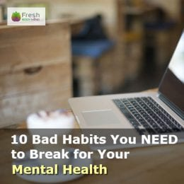 bad habits for mental health