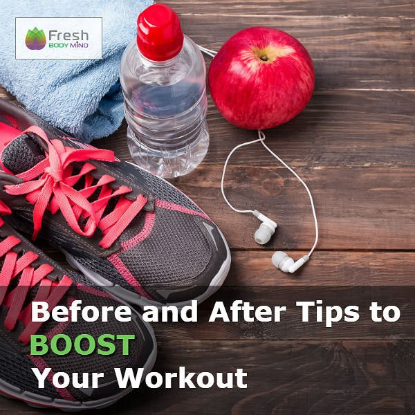 Before and After Exercise Tips