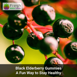 black elderberry gummies