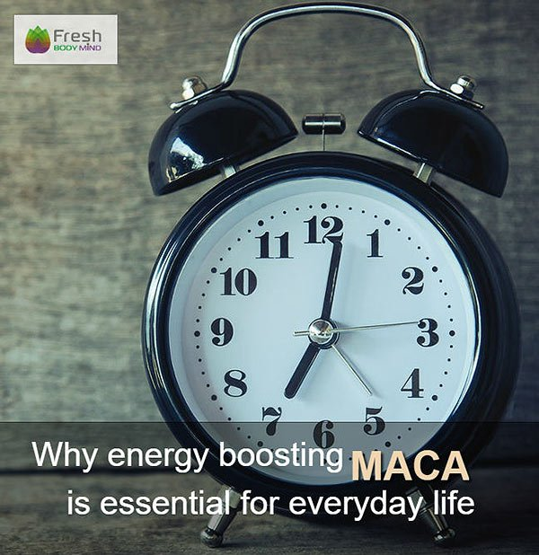 Energy Boosting Maca