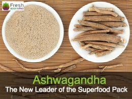 Ashwagandha the powder