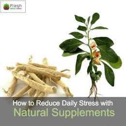 Natural Supplements to help with stress