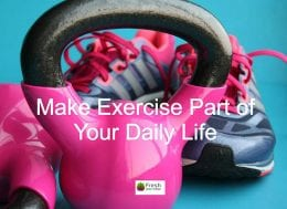 Kettle bells and trainers