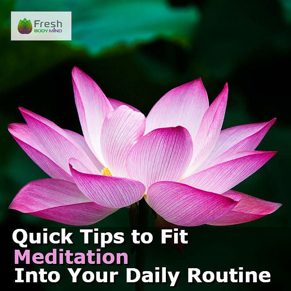 Meditation Daily Routine