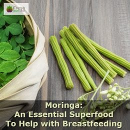 improve breast milk supply with moringa