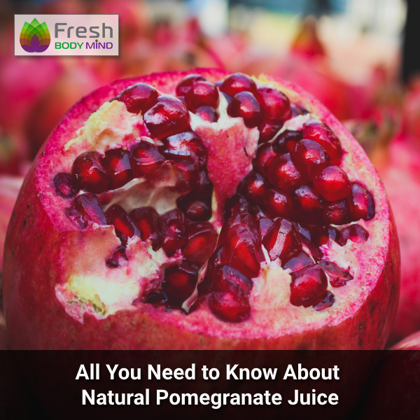 Natural Pomegranate Juice