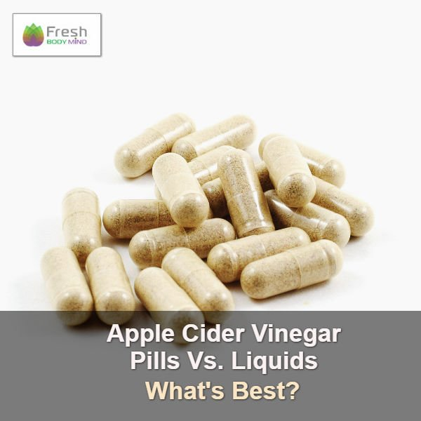 Apple Cider Vinegar Pills vs. Liquid