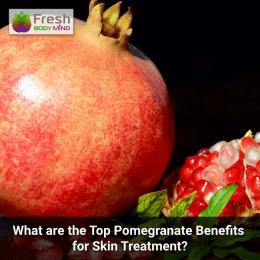 Pomegranate benefits for skin