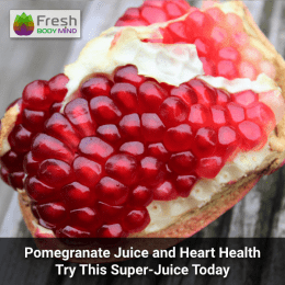 Pomegranate juice and heart health