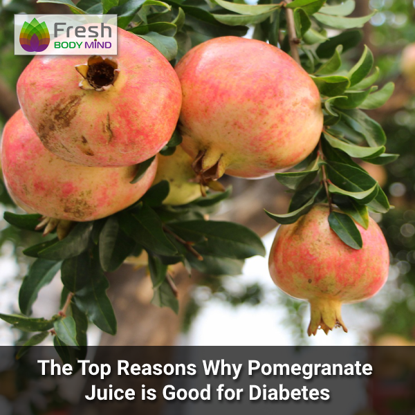 Why Pomegranate Juice is Good for Diabetes