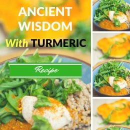 Bowl of Ancient Wisdom with Turmeric