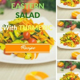 Recipe: Far Eastern Salad with Turmeric