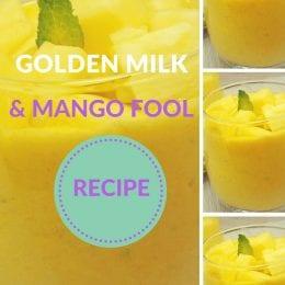 Golden Milk and Mango Fool Recipe
