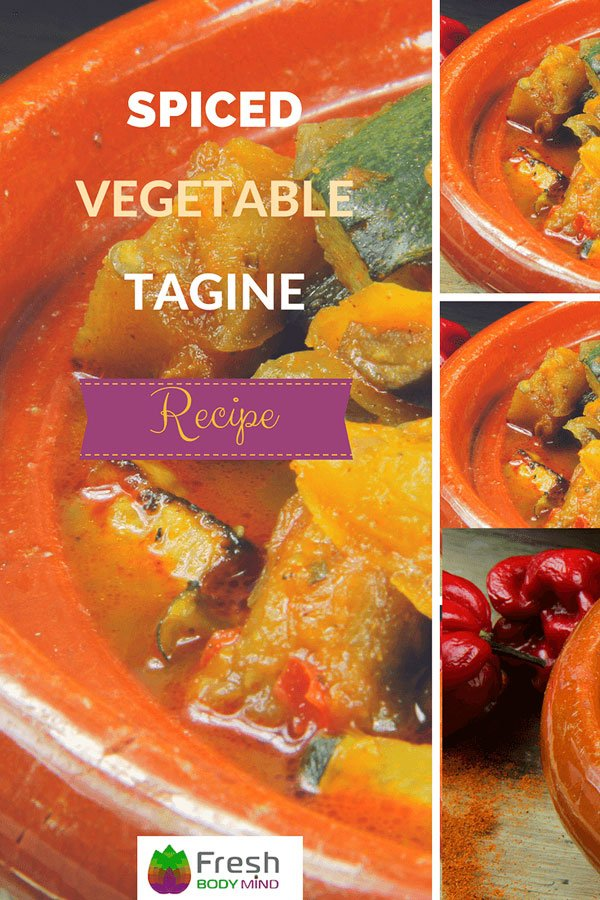 Nutrient Packed Spiced Vegetable Tagine