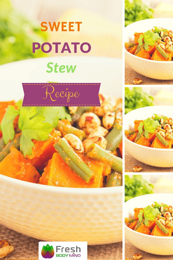 Warming Turmeric Sweet Potato Stew Recipe