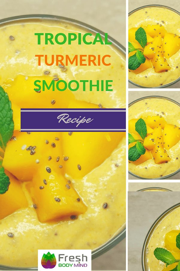 Tropical Turmeric Smoothie Recipe