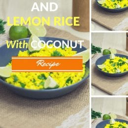 Turmeric and Lemon Rice with Coconut