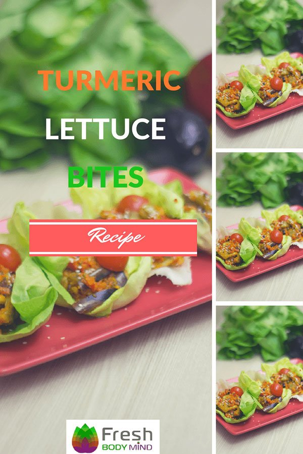 Recipe: Turmeric Lettuce Bites