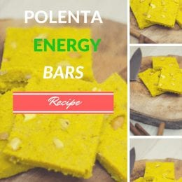 Recipe: Turmeric Polenta Energy Bars