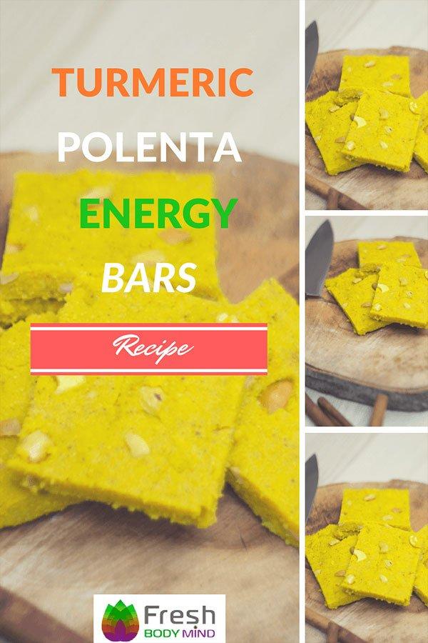 Recipe: Turmeric Polenta Energy Bars